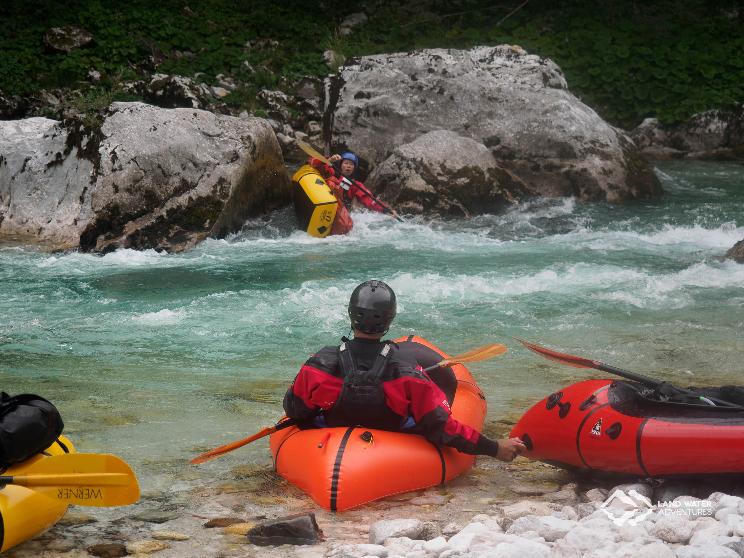 Pastorentöter Soca © Land Water Adventures