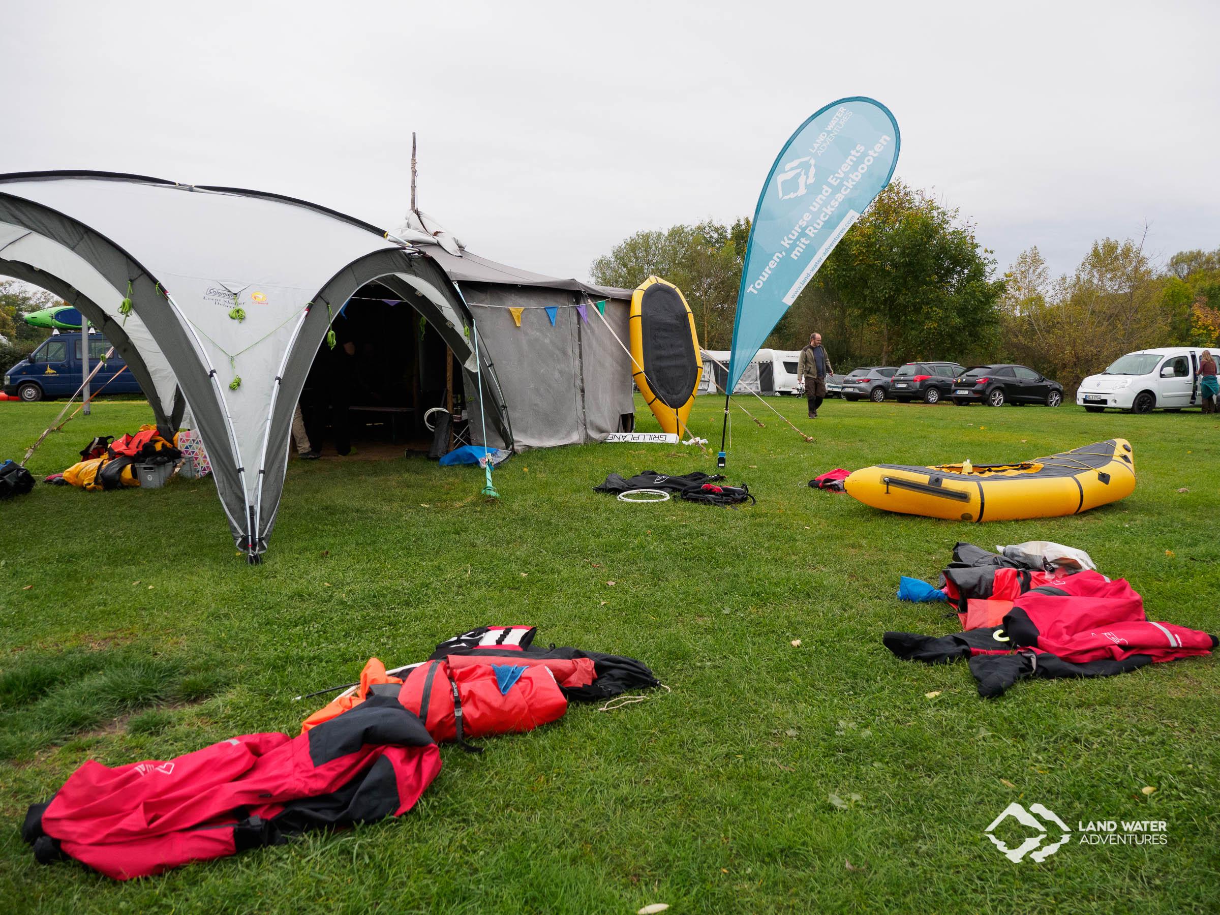 Saisonabschluss LWA Nahe 2017 am Campingplatz Nahemühle © Land Water Adventures