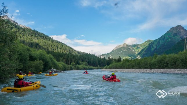 Packrafting Tirol 2017 © Land Water Adventures