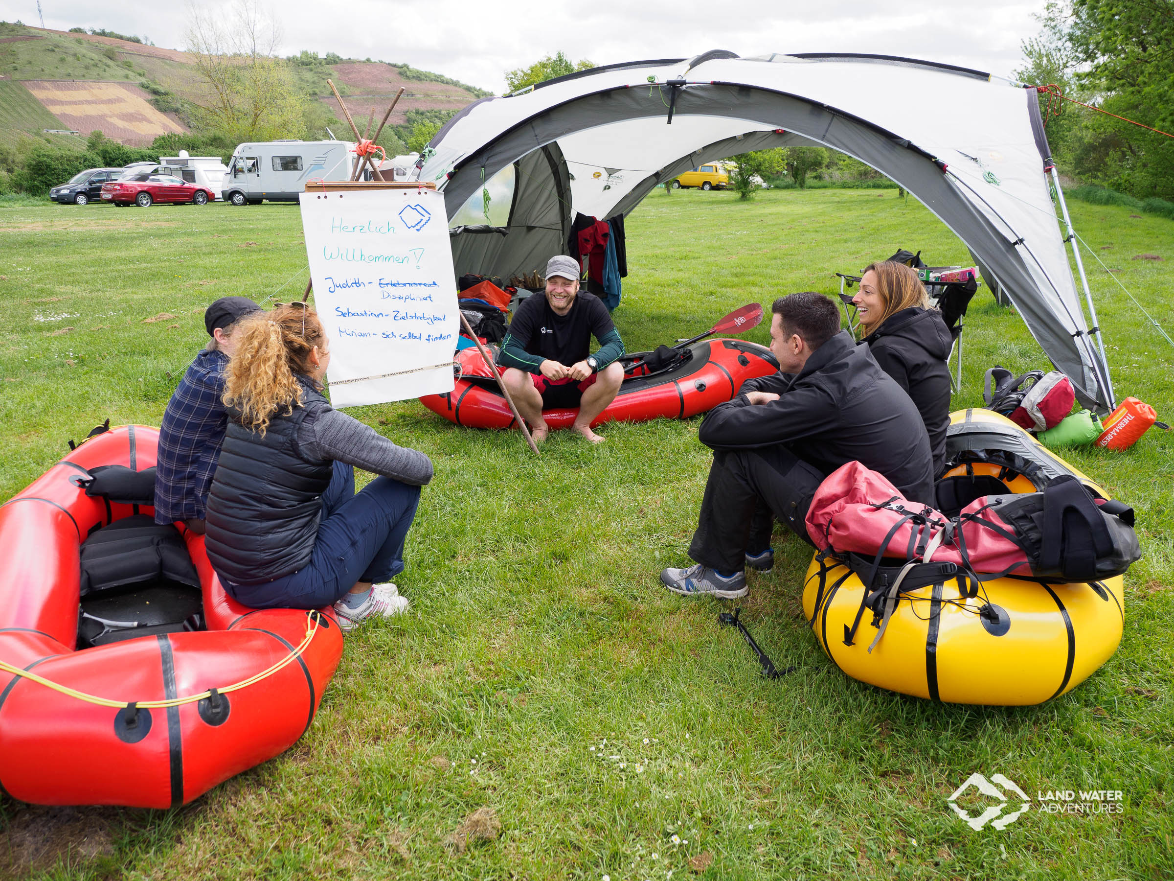 Multiday Packrafting Hunsrück © Land Water Adventures