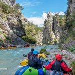 Whitewater-Packrafting training Tyrol 2018