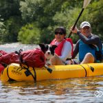 Dogs in packrafts (German only)