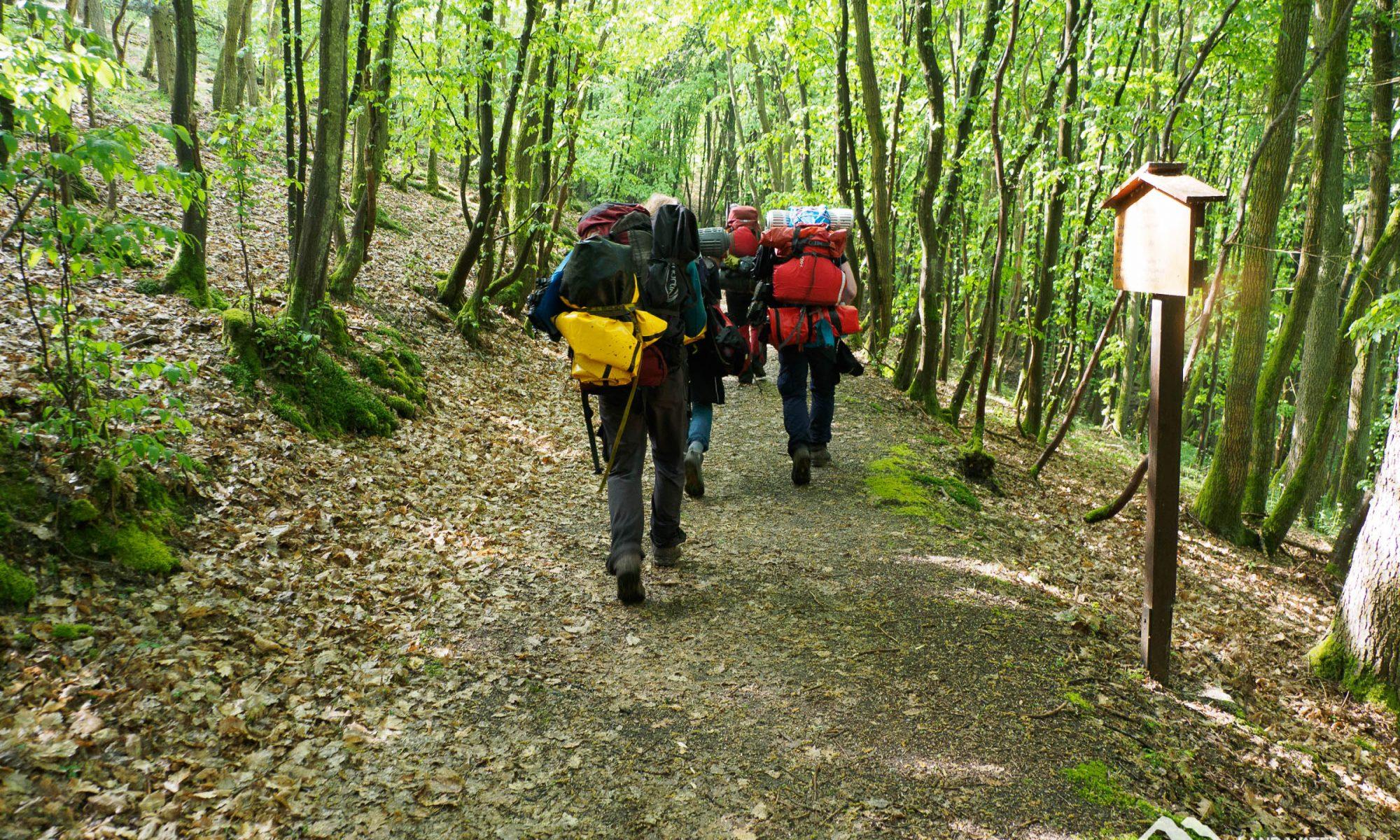 Mit Packraft auf dem Soonwaldsteig © Land Water Adventures