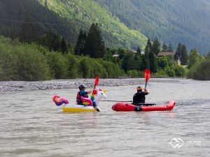 Unicorn on whitewater © Land Water Adventures