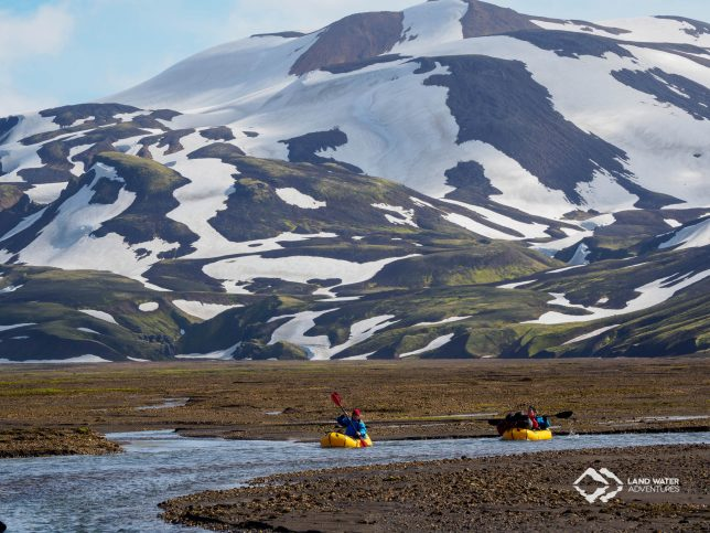 Packrafting Island © Land Water Adventures