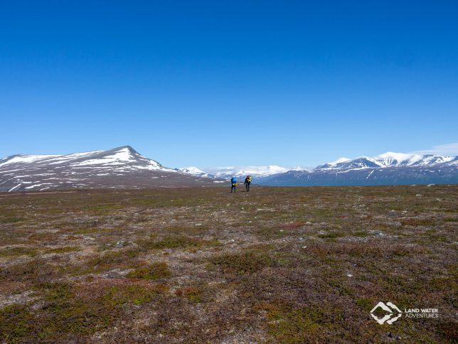 Trekking in Laponia © Land Water Adventures