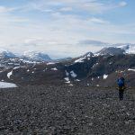 Gefrorene Seen - Polarkreis Expeditionstour Packrafting Laponia 2018