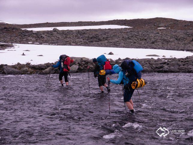 Flussquerung Laponia © Land Water Adventures