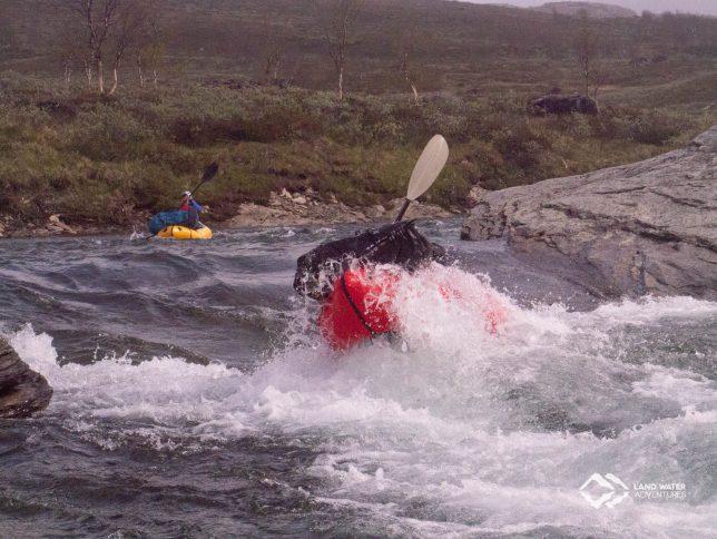 Schwedische Wellen © Land Water Adventures