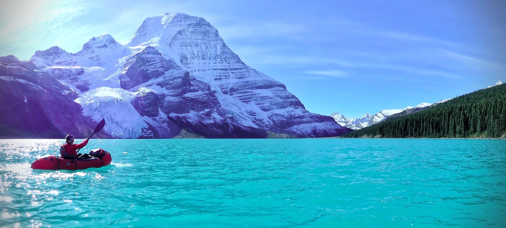 Kanada Rückweg vom Berg Lake ins Tal © Jens Külzer