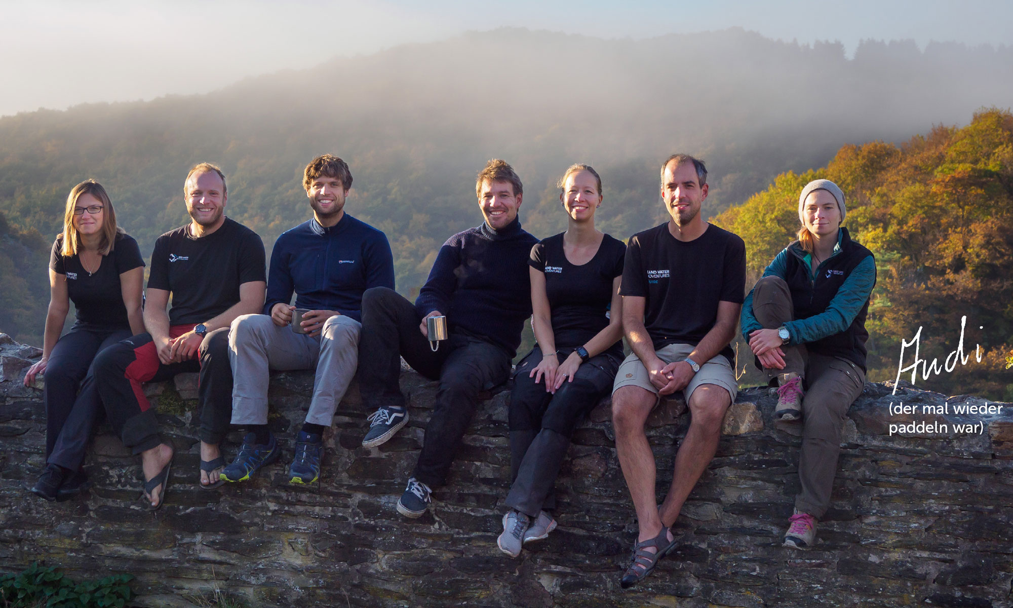 Team-Gruppenbild-Schmidtburg © Land Water Adventures