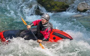 Andi Wildwasser Packrafting Soca © Land Water Adventures
