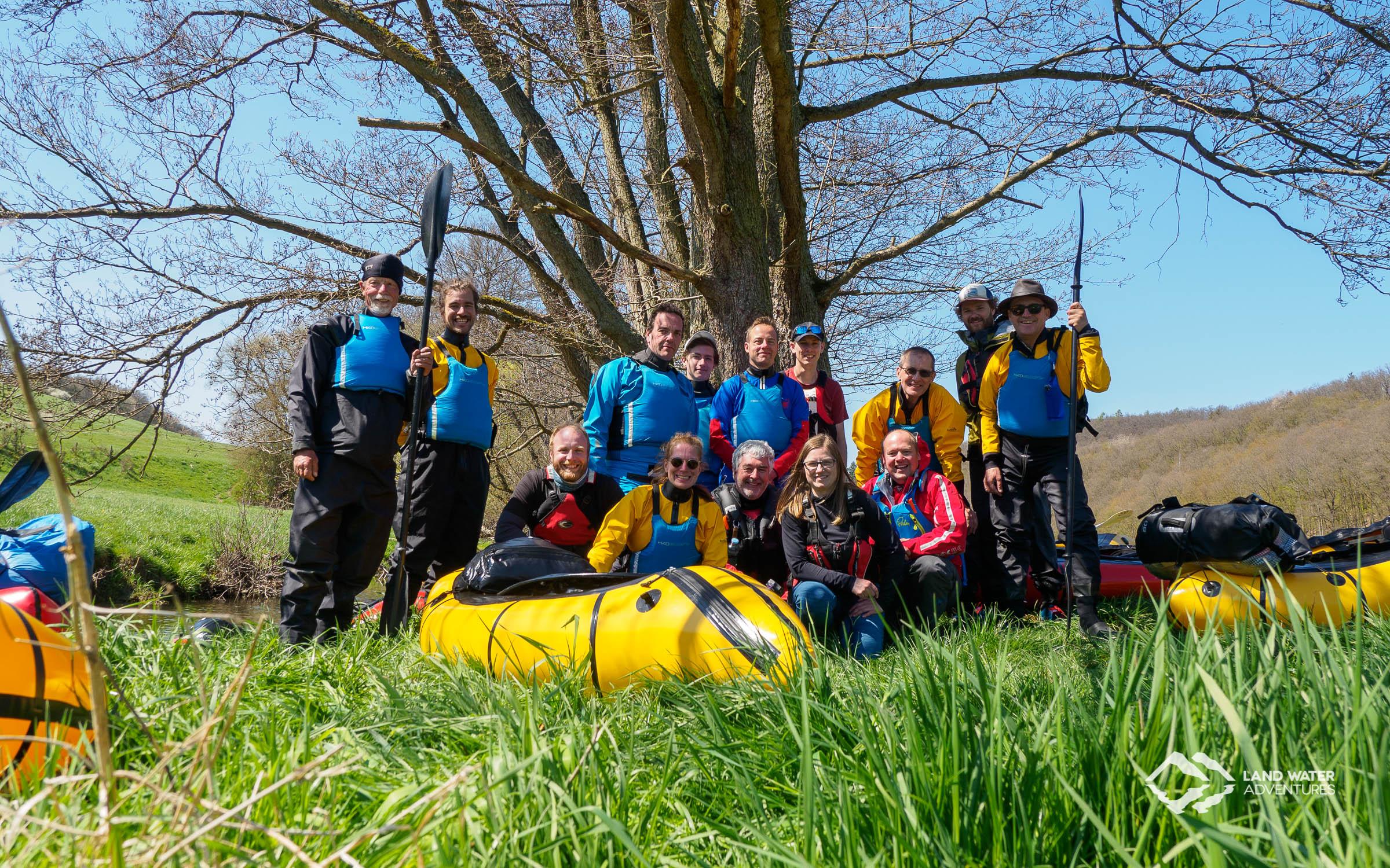 Hunsrück Tour 3 2019 die Teilnehmer © Land Water Adventures