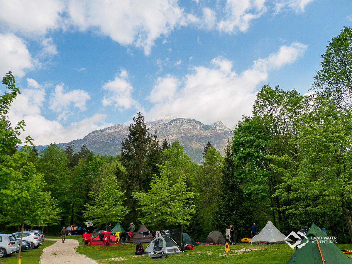 Camp Liza Bovec Mai 2019 © Land Water Adventures