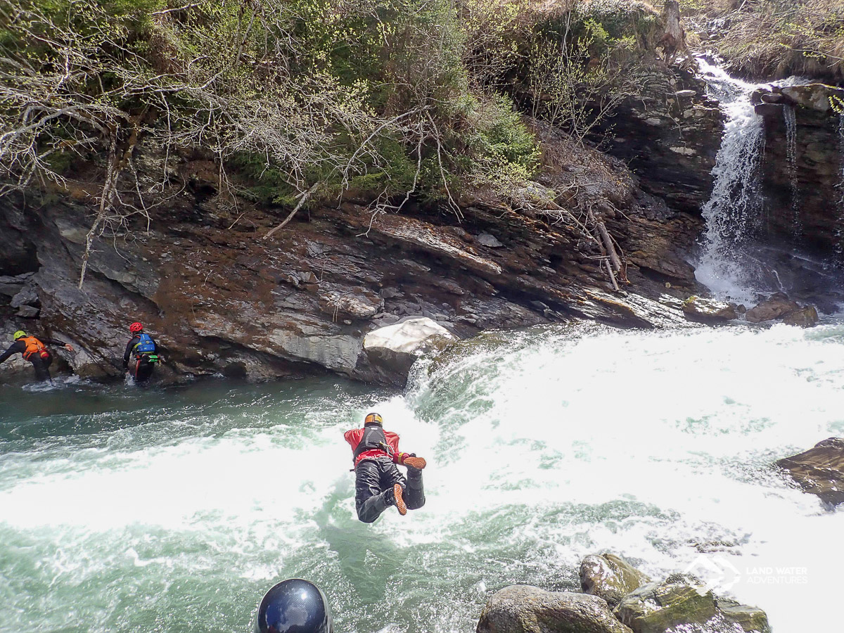 WRT Pro further training whitewater © Land Water Adventures