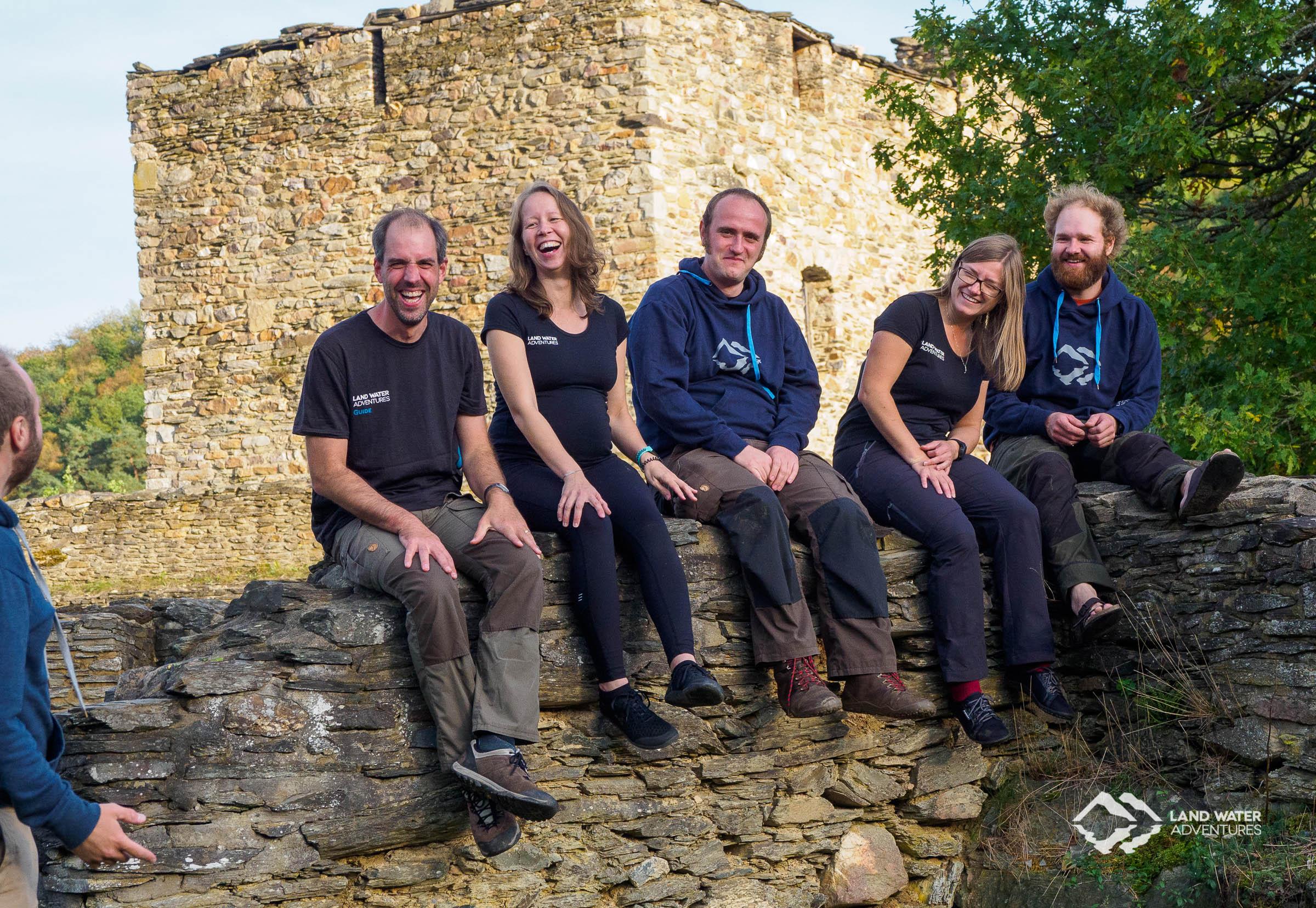 LWA Team auf der Schmidtburg 2019 © Land Water Adventures