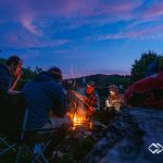 Kürbis im Lagerfeuer - LWA Team-Treffen 2019
