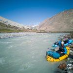 Packrafting in Kirgistan
