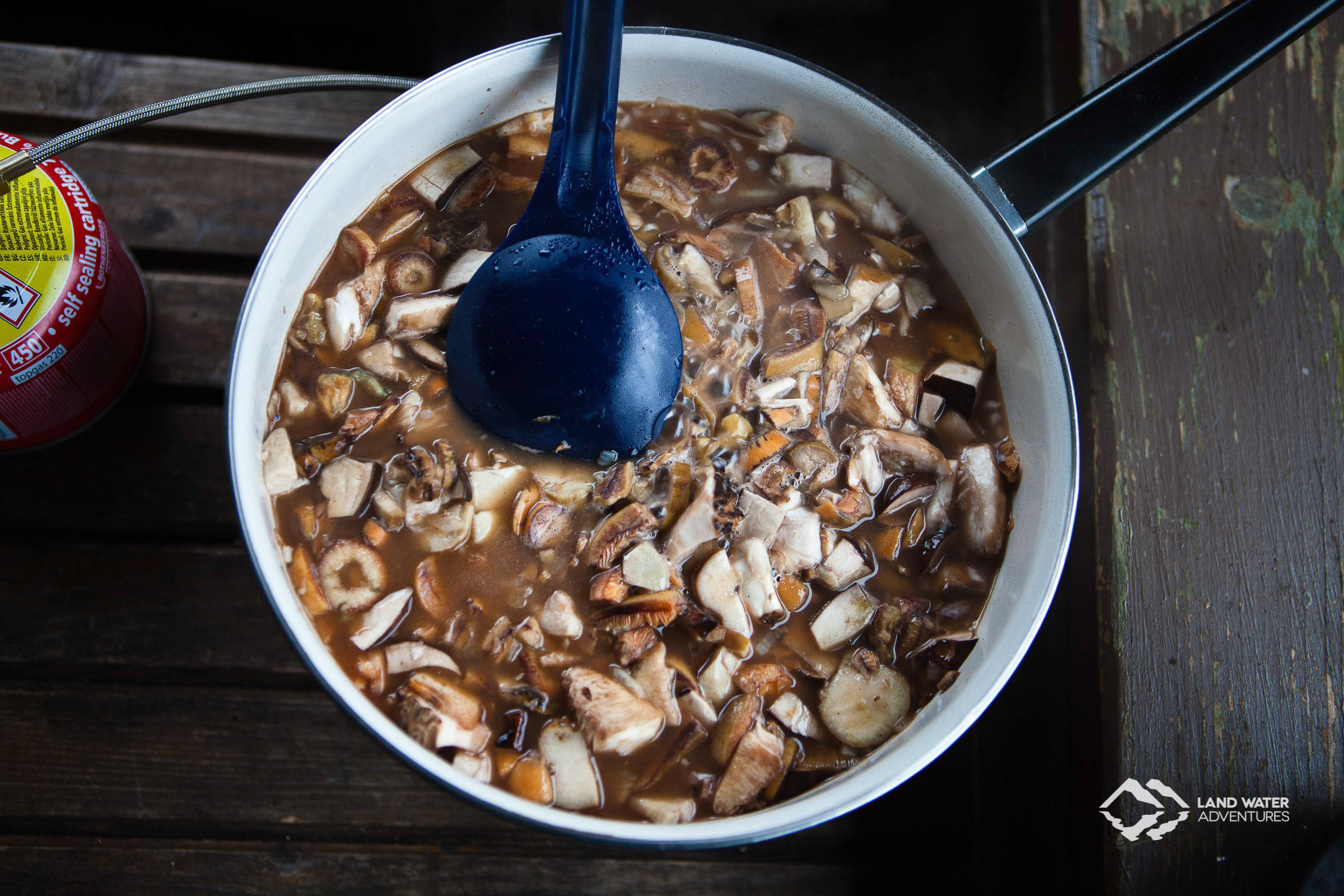 There's no fresher mushroom pan © Land Water Adventures